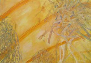 Intuition 1, 70 x 110 cm, Malerei auf Leinwand, Iris Flexer 2018
