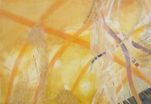 Intuition 2, 70 x 110 cm, Malerei auf Leinwand, Iris Flexer 2018