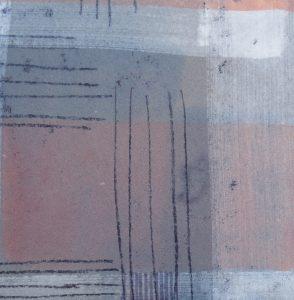 Nachtstück 4, Mischtechnik, 50 x 50cm, Iris Flexer 2018