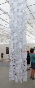 Grüne Karten 1, 2017, Postkarten, Württembergischer Kunstverein, Iris Flexer
