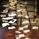 Papiermuseum Lenningen, Buchseiten im Raum, Iris Flexer 2019