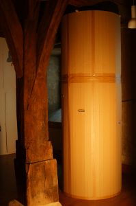 Leuchtturm 1, Pappe, Draht, Licht, Iris Flexer 2014