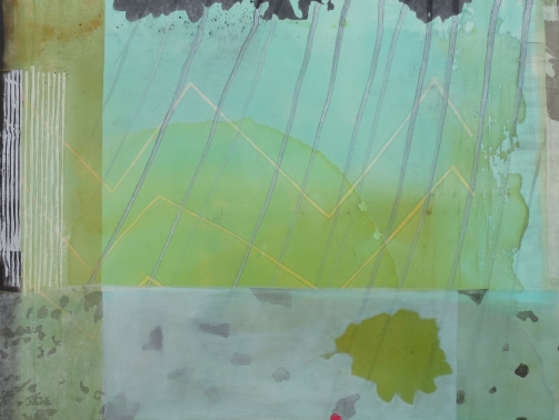 Experiment Papier Collage Objekt - Wochenkurs am Bodensee Sommer 2019